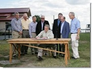 Bush signing striped bass protection