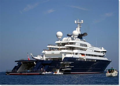 Superyacht stalkers (Wall Street Journal)
