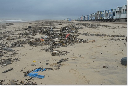 Sea litter - After the storm - Southwold 3
