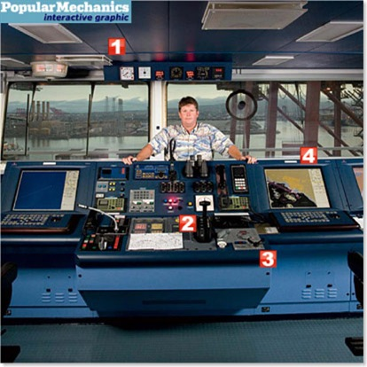 Popular Mechanics - Merchant Marine Captain - This is My Job - Dec 2007