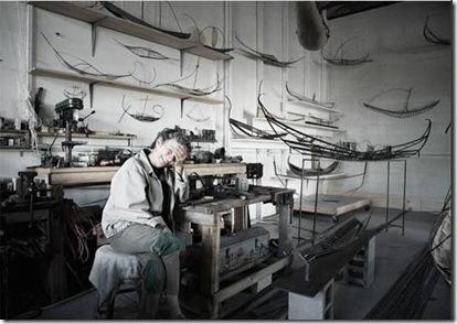 Arden Scott's studio