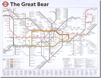 Simon Patterson The Great Bear