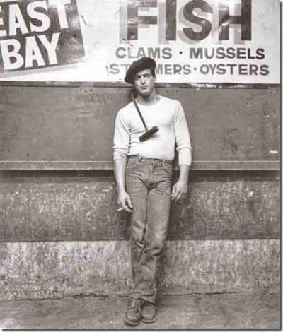 """Vinny, an Unloader"" (1982).  South Street Seaport Museum"