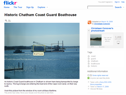 Chatham Boat House by Christiaan Conover