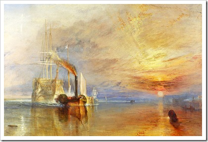 J.M.W. Turner's Fighting Temeraire