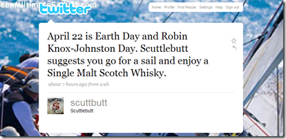 Scuttlebutt on Twitter re RKJ Day