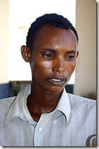 Hassan Abdullahi, a 21-year-old pirate from the Puntland region of Somalia. Scott Baldauf / The Christian Science Monitor