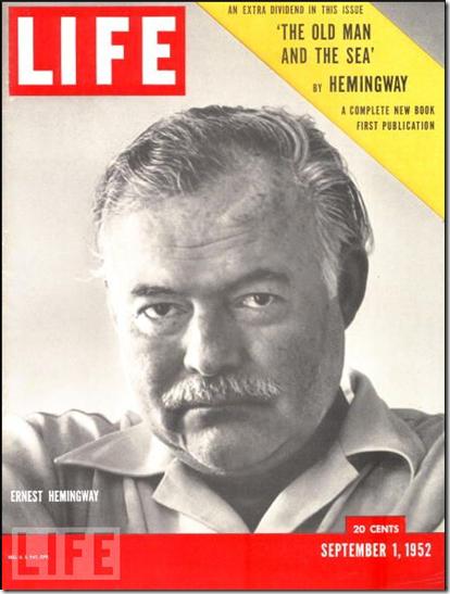 Hemingway - Life cover Sept 1 1952