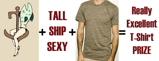 Tall Ship Sexy Magazine T-Shirt Contest