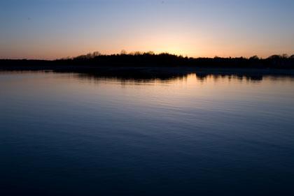 Mattapoisett Harbor Sunset