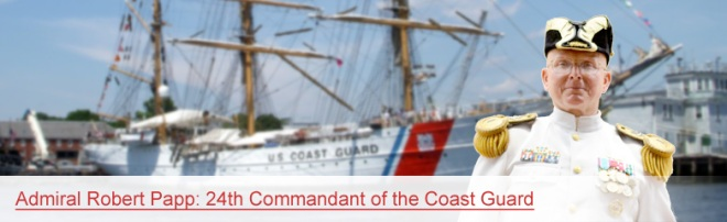USCG Commandant Robert Papp