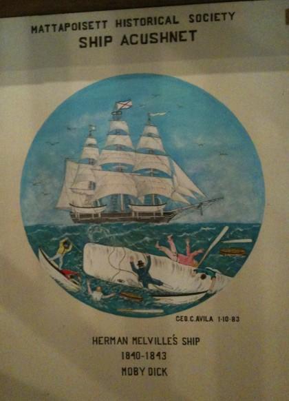 Herman Melville's Ship