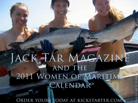 Jack Tar magazine and Women of Maritime Calendar
