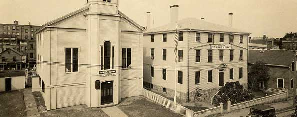 New Bedford Port Society's Seamen's Bethel and Mariner Home