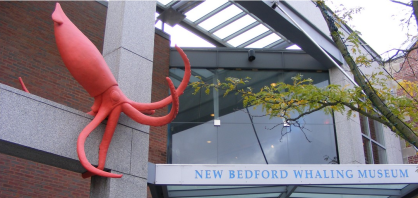 Giant Squid sculpture by Erik Durant