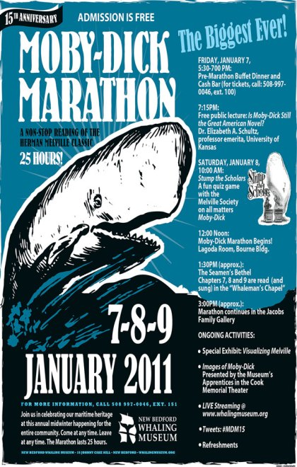 Moby-Dick Marathon poster