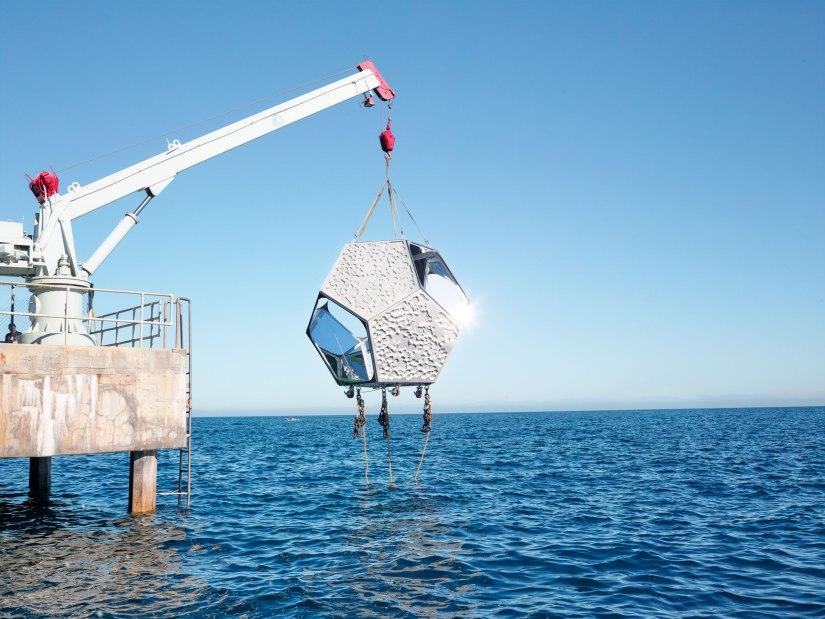 Doug Aitken's Underwater Pavilions(#art)