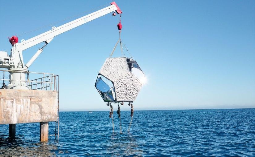 Underwater Pavilions by Doug Aitken